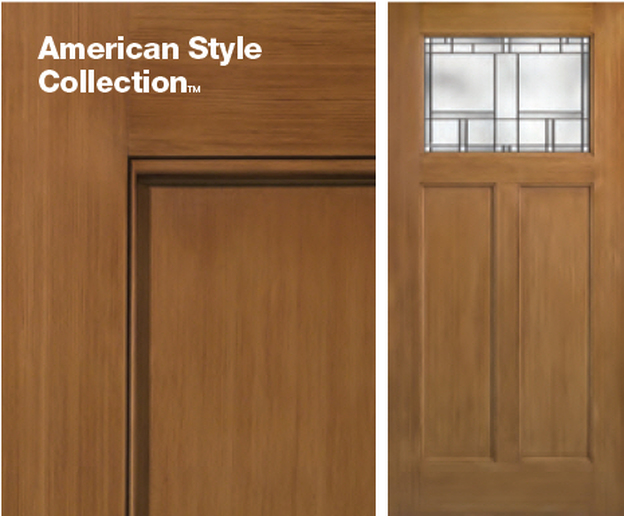 Classic craft american style collection griffin doors for Therma tru classic craft american style collection