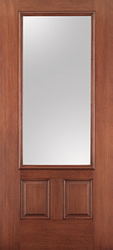 Therma Tru Fiber Classic Mahogany Collection Griffin