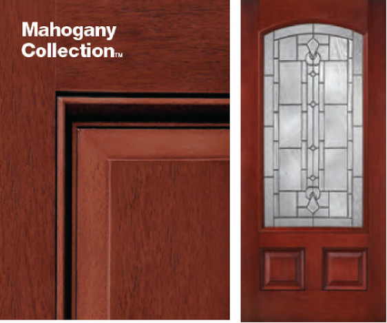 Therma Tru Classic Craft Mahogany Collection Griffin